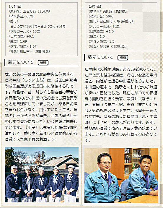日本名門酒会頒布会2020年秋冬コース11月酒