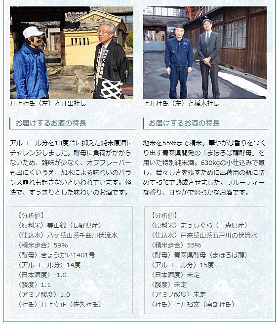 日本名門酒会頒布会2020年夏6月