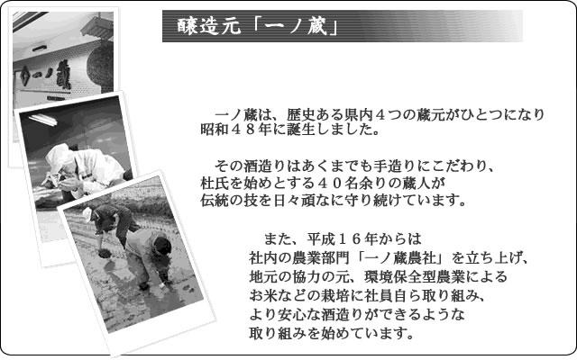 一ノ蔵紹介バナー
