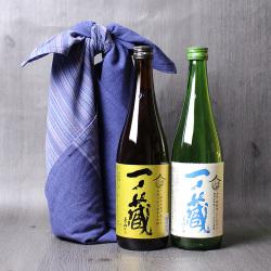 一ノ蔵厳選米仕込み純米酒風呂敷包みセット